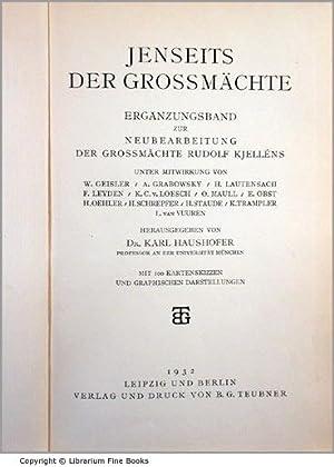 Jenseits der Grossmächte. Ergänzungsband zur neubearbeitung Der Grossmächte Rudolf ...