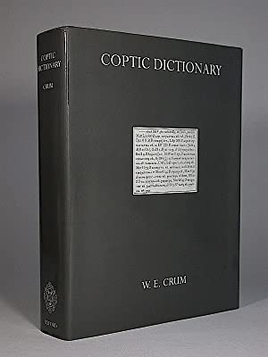 A Coptic Dictionary, Compiled with the Help of Many Scholars.