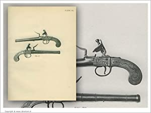 European Hand Firearms of the Sixteenth, Seventeenth & Eighteenth Century:] Fine Pair of ...