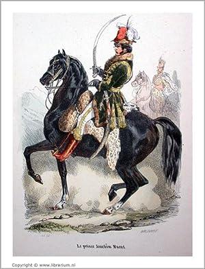 """Histoire de l'Empereur Napoléon] """"Le prince Joachim Murat"""" (caption title). [..."""