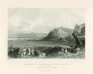 Syria, Holy Land, Asia Minor] Zarephath or Zarapha, the Ancient Sarepta (caption title). [ORIGINAL ...