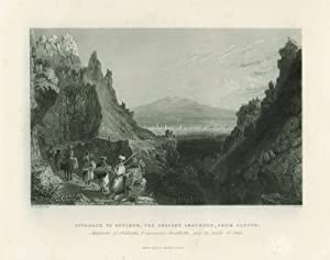 [Syria, Holy Land, Asia Minor] Approach to Antioch, the Ancient Anathoth, from Aleppo (caption ti...