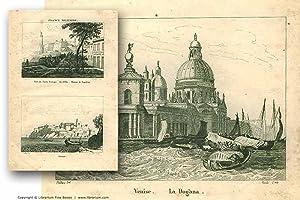 Premier Empire] La France Militaire: Suite of 12 Original Copperplate Etchings [VIEWS, SITES & ...