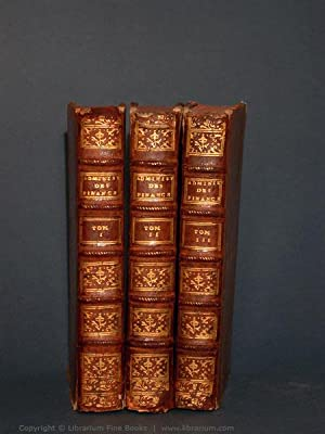 De l'administration des finances de la France. Volumes I-III. [THREE VOLUMES].: Necker, (...