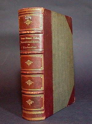 Handbuch der Nervenkrankheiten im Kindesalter.: Bruns, L.; A. Cramer; Th. Ziehen.