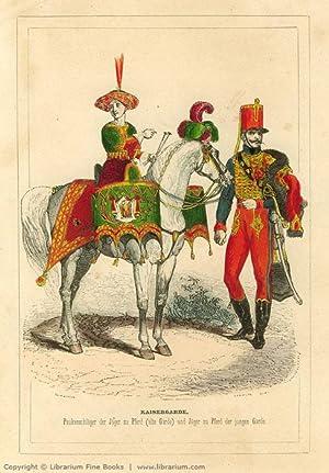 Histoire de l'Empereur Napoléon; Garde Impériale. Konsular- und Kaisergarde ...