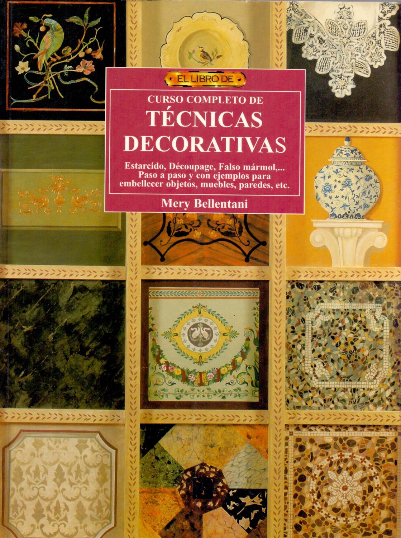 decoupage muebles paso paso CURSO COMPLETO DE TECNICAS DECORATIVAS