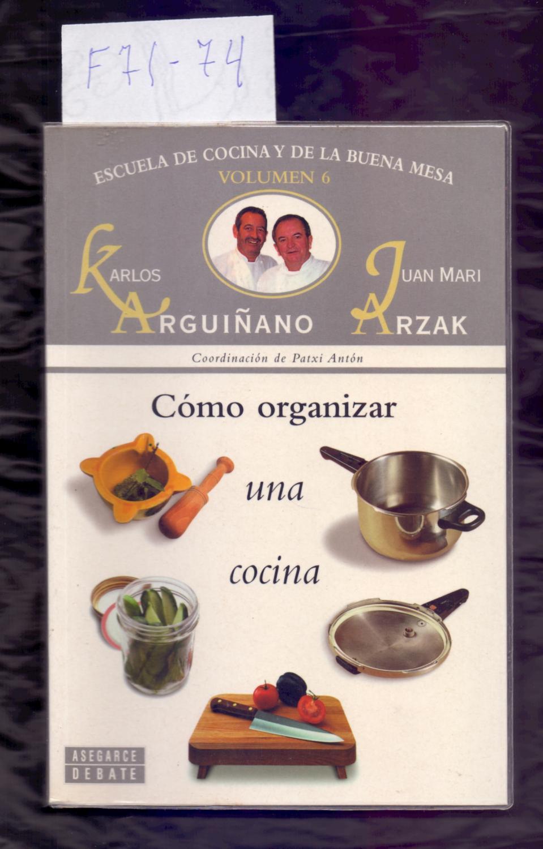COMO ORGANIZAR UNA COCINA - ESCUELA DE ...