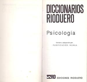 PSICOLOGIA (2800 palabras ordenadas alfabeticamente con mas de 270 ilustraciones y tablas): ...