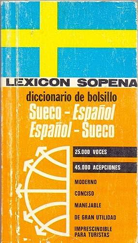 DICCIONARIO DE BOLSILLO - Sueco-Español, Español-Sueco (25.000 voces, 45.000 ...