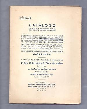 CATALOGO DA PEQUEÑA BIBLIOTECA DUM DISTINTO BIBLIOFILO: Arnaldo Henriques de