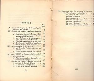INTRODUCCION A LA CARACTEROLOGIA: H. Rohracher