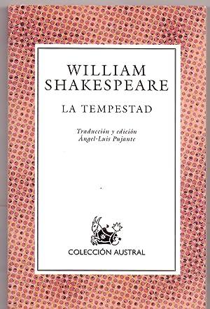 LA TEMPESTAD (Coleccion austral num 401) (edicion: William Shakespeare