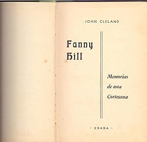 FANNY HILL, MEMORIAS DE UNA CORTESANA: John Cleland