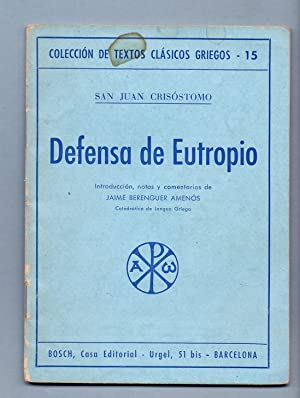DEFENSA DE EUTROPIO: Jaime Berenguer Amenos