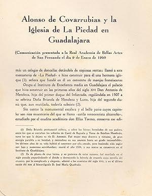 ALONSO DE COVARRUBIAS Y LA IGLESIA DE LA PIEDAD EN GUADALAJARA -COMUNICACION PRESETADA A LA REAL ...