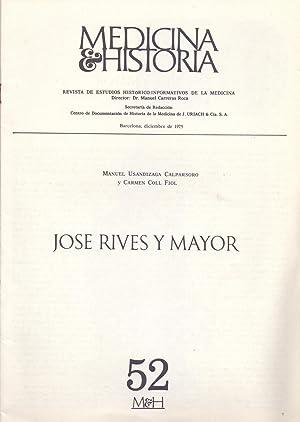JOSE RIVES Y MAYOR: Manuel Usandizaga Calparsoro