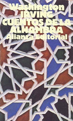CUENTOS DE LA ALHAMBRA: Washington Irving (Prologo de Andres Soria)