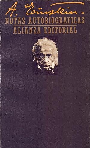 NOTAS AUTOBIOGRAFICAS: Albert Einstein (