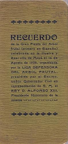 RECUERDO DE LA GRAN FIESTA DEL ARBOL FRUTAL (PRIMERA EN ESPAÑA) CELEBRADA EN LA ILUSTRE Y ...