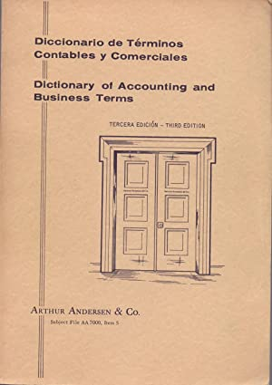 DICCIONARIO DE TERMINOS CONTABLES Y COMERCIALES - DICTIONARY OF ACCOUNTING AND BUSINESS TERMS -: ...