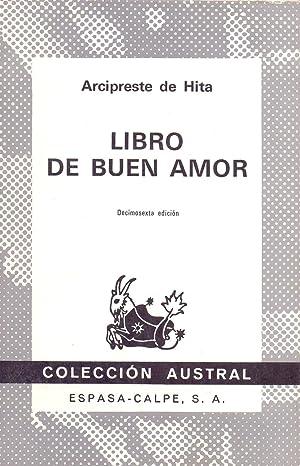 LIBRO DEL BUEN AMOR (Coleccion austral num: Arcipreste de Hita