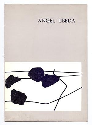 FOTOGRAFIA COMO ARTE ABSTRACTO: LA OBRA DE ANGEL uBEDA - CATALOGO PRESENTADO POR CARLOS AREAN -: ...