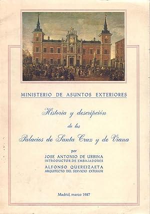 HISTORIA Y DESCRIPCION DE LOS PALACIOS DE: Jose Antonio de