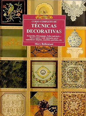 CURSO COMPLETO DE TECNICAS DECORATIVAS (estarcido, decoupage, falso marmol. paso a paso y con ...