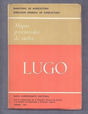 LUGO -(MAPAS PROVINCIALES DE SUELOS) - PROVINCIA: Varios Autores -