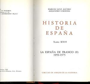 HISTORIA DE ESPAÑA - LA ESPAÑA DE: Marcos Sanz Aguero