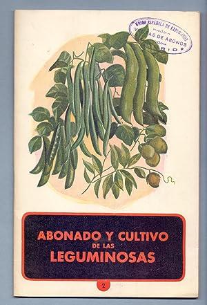 ABONADO Y CULTIVO DE LAS LEGUMINOSAS (judias,: Potasas Españolas S.