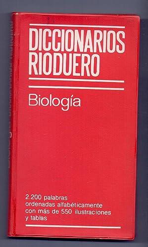 DICCIONARIO DE BIOLOGIA: Gloria Arroyo Marcos