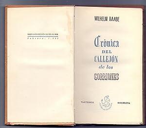 CRONICA DEL CALLEJON DE LOS GORRIONES: Wilhelm Raabe