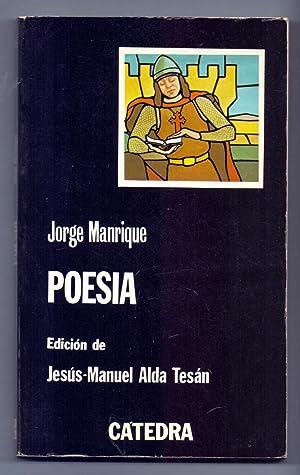 POESIA (edicion de Jesus-maria alda tesan): Jorge Manrique