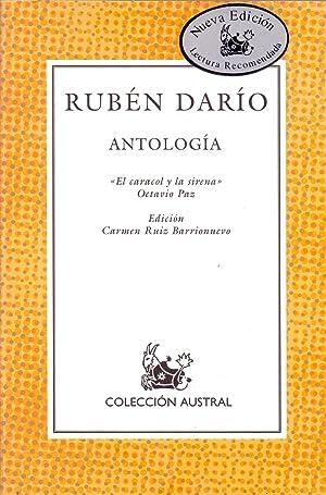 ANTOLOGIA (El caracol y la sirena, Octavio paz) Edicion: Carmen Ruiz Barrionuevo (Coleccion austral...