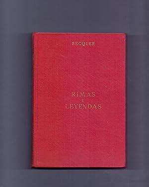 RIMAS Y LEYENDAS (Biblioteca de obras famosas num 1): Gustavo Adolfo Becquer
