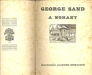 GEORGE SAND A NOHANT (CUATRO FOTOGRAFIAS): Editions Albert Morance