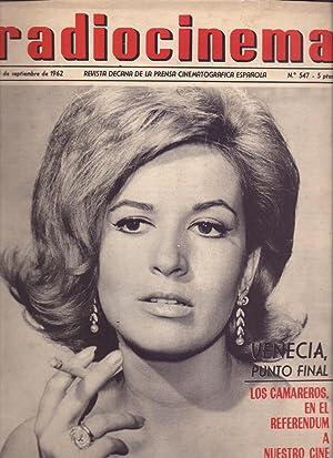 VENECIA - MARISA DE LEZA -JORGE MISTRAL: Revista Radiocinema, Septiembre