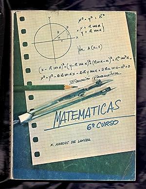 MATEMATICAS - SEXTO CURSO: F. Marcos de