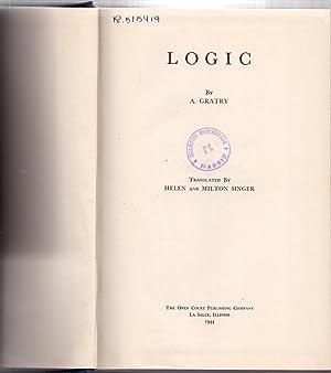 LOGIC: A. Gratry (Translated