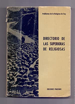 DIRECTORIO DE LAS SUPERIORAS DE RELIGIOSAS: Germán Jiménez Imaz
