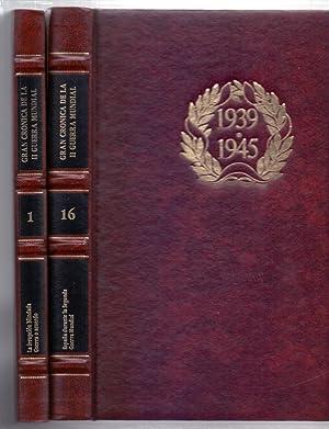 LA SEGUNDA GUERRA MUNDIAL, 1939-1945 (16 TOMOS, OBRA COMPLETA): Varios Autores