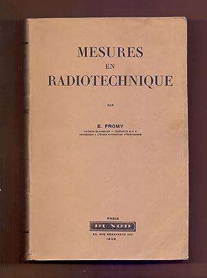 MESURES EN RADIOTECHNIQUE: E. Fromy