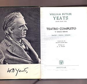 TEATRO COMPLETO Y OTRAS OBRAS (TEATRO -: William Butler Yeats