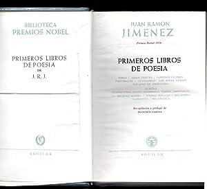 PRIMEROS LIBROS DE POESIA - RIMAS /: Juan Ramon Jimenez