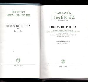 LIBROS DE POESIA - SONETOS ESPIRITUALES /: Juan Ramon Jimenez