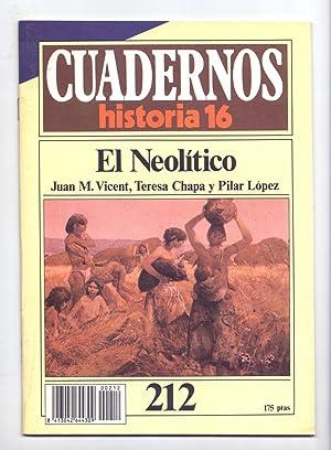 EL NEOLITICO: Juan M. Vicent