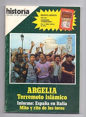 ARGELIA TERREMOTO ISLAMICO / MITOS Y RITOS: Juan Pardo Despierto