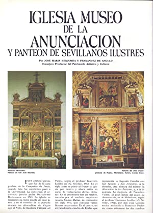 MUSEOS DE SEVILLA: IGLESIA MUSEO DE LA: Jose Maria Benjumea